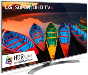 LG 60UH7700 vs 60UH6550 Similarities & Differences : Which New 60-Inch Smart 4K UHD TV Model to Choose?