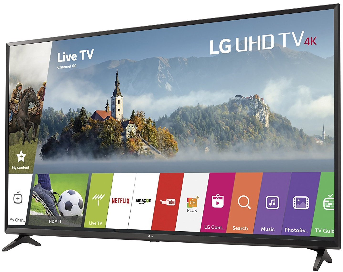 LG 43UJ6300 vs 43UH6100 Review : LG's 2017 and 2016 Basic 43